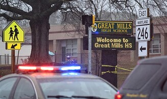 Gunman dead in Maryland school shooting, 1 in critical condition